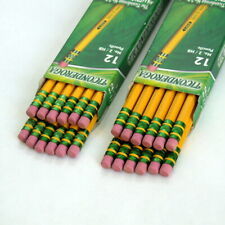 2 Boxes Dixon Ticonderoga Pencils Made in USA New in Box #2/HB 1388-2