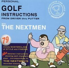 The Nextmen Personal Golf Instructions CD Rare