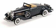 Duesenberg Sjn Supercharged Convertible Coupe' 1936 Dark Blue 1:43 Model