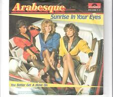ARABESQUE - Sunrise in your eyes