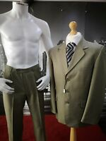 """New Lime 2 Piece Suit Chest 42"""" Waist 30"""" RRP£199.99 Formal Wedding Work Funeral"""