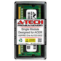 4GB PC3-10600 DDR3 1333 MHz Memory RAM for ACER ASPIRE ONE AO722-0432