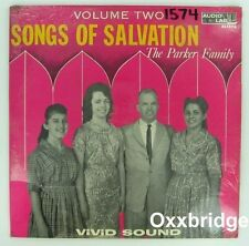 SEALED PARKER FAMILY Songs Of Salvation 2 AUDIO LAB Gospel Bluegrass Country The