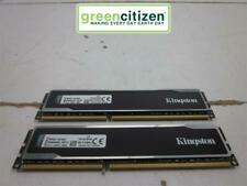 New listing Kingston Hyper X Black 16Gb (2x8Gb) Pc3-12800U Ddr3-1600Mhz 1.5V Khx16C10B1B/8