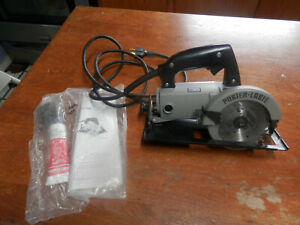 """PORTER CABLE HD 4 1/2"""" TRIM SAW MODEL 314 CORDED SAW"""