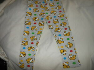 Childs Children in Need Pudsey Bear Girls Trousers Age 18-24  months (NEW)