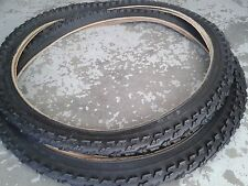 Unbranded Bicycle Tyres with Knobby Tread