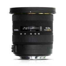Sigma DC Wide Angle Lenses for Canon Cameras