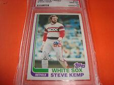 1982 topps #54T STEVE KEMP  psa 10 Chicago WHITE SOX (720)
