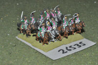15mm napoleonic / french - dragoons 12 figures - cav (26535)