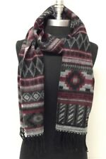New Winter Warm 100% Cashmere Scarf Wrap SCOTLAND Color Wine/Black/Gray/White