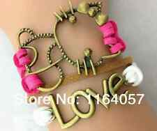 Leather Hello Kitty Bracelet