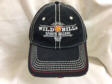 trucker hat baseball cap WILD BILLS SPORTS SALOON retro vintage rave cool rare