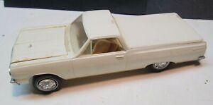 Vintage1964 Chevrolet Chevelle El Camino Built Up Model Kit Not Painted AMT? NR