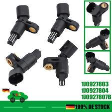 4x ABS Sensor Vorne Hinten Für VW PASSAT 35I 1.6-2.9 POLO 6N 6N1 SEAT AUDI SKODA