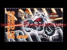 HARLEY DAVIDSON 1690 Dyna Fat bob FXDF République CONGO Moto Sello Stamp Stempel