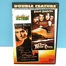 Double Feature - Zorro + The Count of Monte Cristo on DVD Slimcase