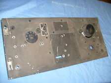 SIGNAL CORPS RADIO  RECEIVER  FRONT PANEL WITH CONTROL , KNOB, ETC / s2