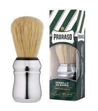 PRORASO Pennello da Barba Professionale con setole naturali NUOVO ORIGINALE