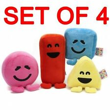 """5"""" Official CBeebies Mister Mr Maker Set of 4 Plush Soft Toys New"""