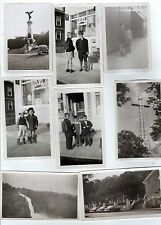 QUEBEC CANADA 1952 PHOTOGRAPH LOT Photos MONTREAL Montmagny QC St Anne Beaupre