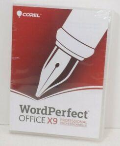 Corel Wordperfect Office X9 Professional Edition  1 User
