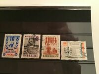 Liberia  used United Nations  Stamps R21988