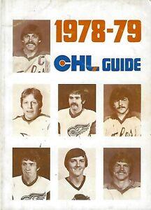 1978-79 Central Hockey League Media Guide - CHL #FWIL