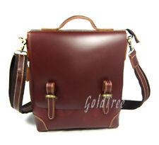 2016 Men's Genuine Leather Messenger Bag Handbag Shoulder Bag