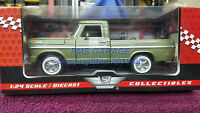 1969 Ford F-100 Pickup Truck (Green) 1:24 Scale Diecast  Model New in Box