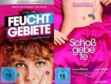 2 DVDs * Charlotte Roche - Feuchtgebiete + Schoßgebete im SET  # NEU OVP =