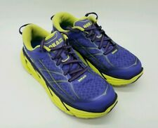Hoka One One Clifton 2 Women's Running Athletic Shoes  Purple Neon 1008329 Sz 7
