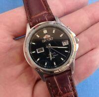 Orient water resist 50m 3 stars automatic watch men 21 jewels 469 (original)