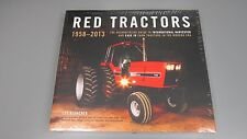 Red Tractors 1958-2013 Hardcover Book by Lee Klancher Case IH