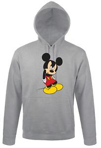 Herren Hoodie Kapuzenpullover Mickey Böse Minnie Maus Cartoon Fun Süß Geschenk