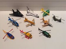 Hot Wheels Matchbox Airplanes Helicopters Space Shuttle F117 Nighthawk Lot Set