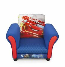 Delta Children Disney Cars Upholstered Chair, Kids Arm Chair With Cars Design