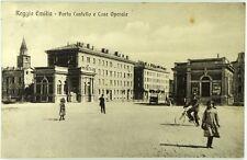Cartolina Formato Piccolo-Reggio Emilia -Porta Castello E Case Operaie Viaggiata