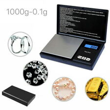 Electronic Pocket Mini Digital Gold Jewellery Weighing Scales 0.1G to 1000 Grams