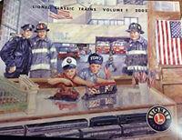 Lionel 2002 Train Catalog Volume 1 Model Toy Railroad Catalogue FDNY Fire