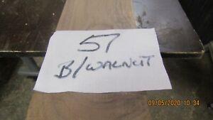 #57 B/W 1PC B/WALNUT BOARD 2340X125X32MM P.A.R.2XKNOTS  MODEL &CRAFT MAKING DIY