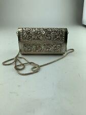 Silver Plated Hard Case Shoulder Bag