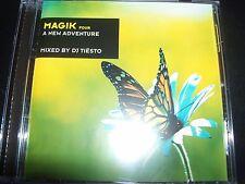 DJ Tiesto Magik Four A New Adventure Mixed CD – Like New
