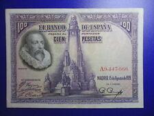 BILLETE DE 100 PESETAS DE 1928 SERIE A