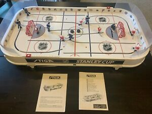 STIGA Sports NHL Stanley Cup Rod Hockey Table Game - Detroit and Toronto