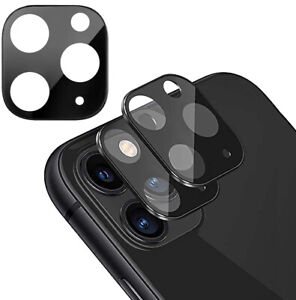 Kamera Schutz iPhone 11 / 11 Pro / 11 Pro Max Glas Metall Linsen Panzer Folie