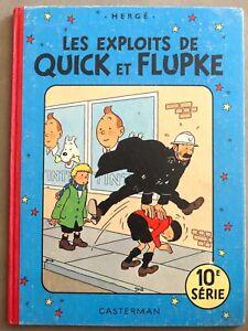 HERGE / LES EXPLOITS DE QUICK ET FLUPKE