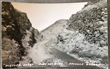 RPPC Oregon OR Picture George John Day River Near Dayville Grant County C1930s