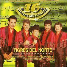Los Tigres del Norte - 16 Kilates Musicales [New CD]