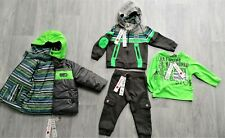 BOBOLI (COMPLET DESIGNER BOYS OUTFIT) COAT is REVERSABLE BRAND NEW size18 Month